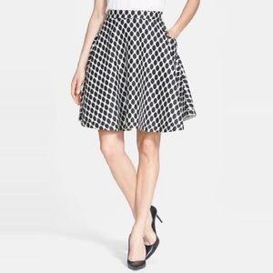 Diane von Furstenberg Amelia Mikado Circle Skirt